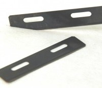 The Tungsten Carbide Drag Blade mounts in the Zirconia Drag Blade holder or Bearing Blade Holder. The tungsten steel blade holders are for very exotic composites that won't cut with metal blades, especially in sail-making and aerospace.  These blades are disposable.   Blades are $28/per blade or $22/blade if purchased in quantities of 20+.