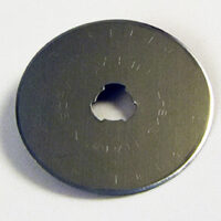 45mm Steel Rotary Blade - 72 dpi